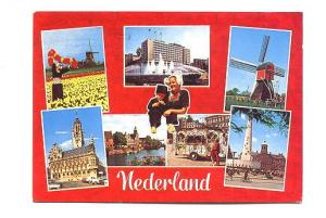 Sevenview, Windmills, Tulips, Canal etc Netherlands