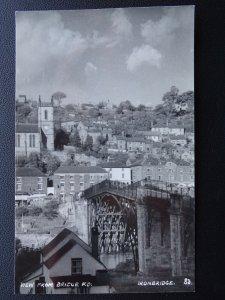 Shropshire Telford IRONBRIDGE from Bridge Road - Old RP Postcard