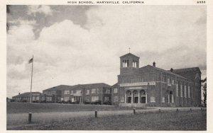 MARYSVILLE , California , 00-10s ; High School