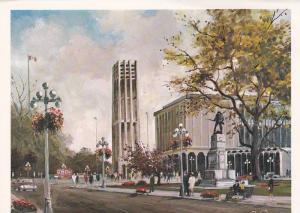 AS: Provinicial Museum and Carillon Tower, Victoria, British Columbia, Canada...