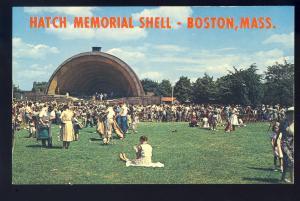 Boston, Massachusetts/MA/Mass Postcard, Hatch Shell On Storrow Drive