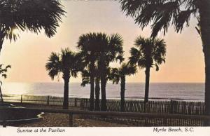 Sunrise at the Pavilion,  Myrtle Beach,   South Carolina,  50-70s