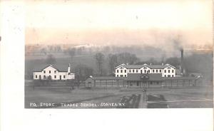Shaker Postcards Old Vintage Antique Post Cards P.O. Store Trades School Real...
