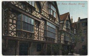 Bristol; St Peter's Hospital 2762 PPC By MJRB, Unused, c 1910's