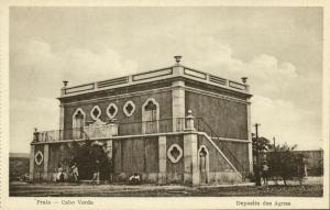 cape verde, PRAIA, Deposito das Aguas (1910s) Postcard