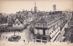DIJON, Cote D'Or, France, 1900-1910's; La Place Francois Rude