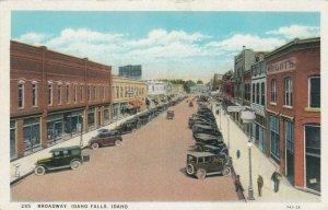 IDAHO FALLS , Idaho, 1900-10s ; Broadway