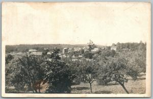 WILKES-BARRE PA PANORAMA 1912 ANTIQUE REAL PHOTO POSTCARD RPPC