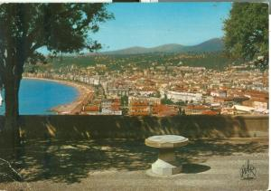 France, Nice, Vue generale, 1972 used Postcard