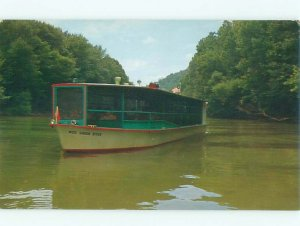 Pre-1980 BOAT SCENE Mammoth Cave National Park - Cave City Kentucky KY AF3915