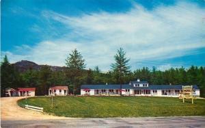Glen New Hampshire~Nice Quiet Place: Meadowbrook Motel~1950s Postcard