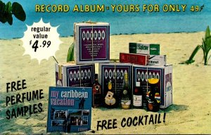 Advertising My Caribbean Vacation Record Album Bolero Liquor Store Charlotte ...