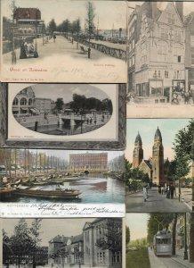 Netherlands Rotterdam Postcard Lot of 31 01.10