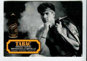 429355 ESTONIA Tabac deodorant Advertising 1996 year RPPC Kuma advertising label