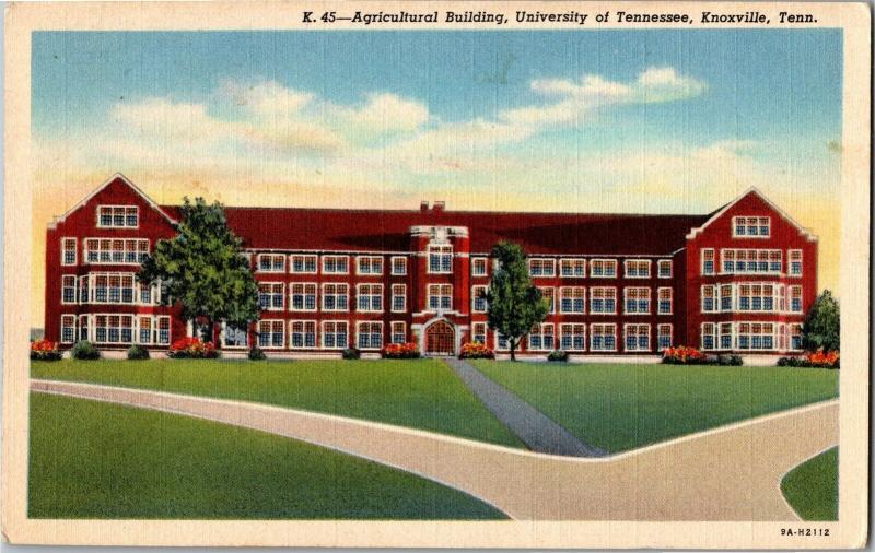 Agriculture Building, University of Tennessee Knoxville Vintage Postcard M17