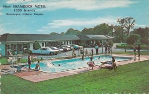 Shamrock Motel, King Street East, 1000 Islands, Swimming Pool, GANANOQUE, Ont...