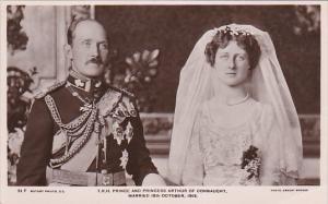 RP; T. R. H. Prince and Princess Arthur of CONNAUGHT, Married 18th October 1913