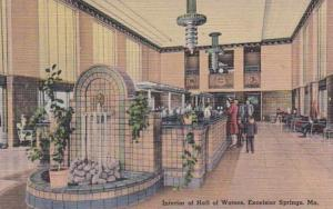 Missouri Excelsior Springs Hall Of Waters Interior