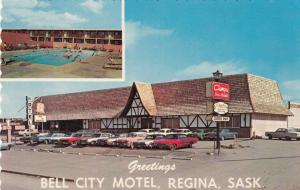 REGINA , Saskatchewan, Canada , 50-60s ; Bell City Motel