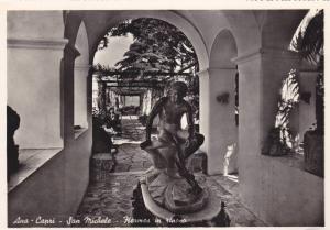 RP, San Michele, Hermes In Riposa, Ana-Capri (Campania), Italy, 1920-1940s