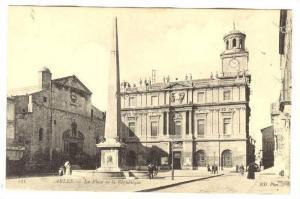 La Place De La Republique, Arles (Bouches-du-Rhône), France, 1900-1910s