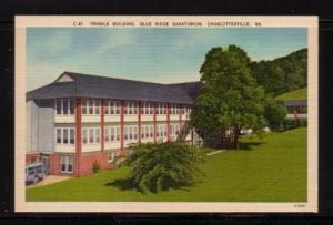 Virginia Post Card Trinkle Bldg Blue Ridge San