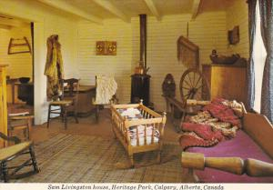 Canada Sam Livingston House Heritage Park Calgary Alberta