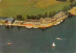 Netherlands Hotel Princenhof Eernewoude Aerial view Boats Bateaux