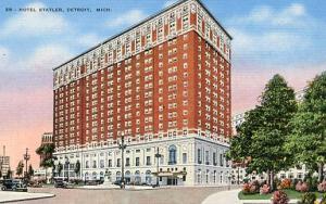 MI - Detroit. Hotel Statler