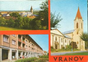 Czech Republic, Vranov, unused Postcard