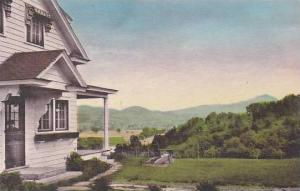 Vermont Williston Twist O´ Hill Lodge View Of Camels Hump Albertype