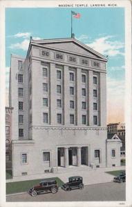 Michigan Lansing Masonic Temple Curteich