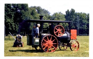 Steam-Powered Farm Equipment in Action