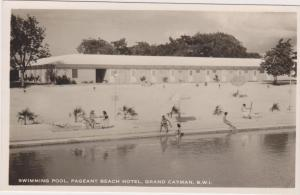 RP: Swimming Pool , Pagent Beach Hotel , GRAND CAYMAN , B.W.I. , 20-30s