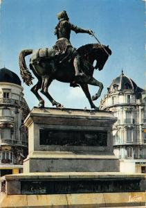 France Orleans Loiret La Statue de Jeanne d'Arc Place du Martroi Postcard