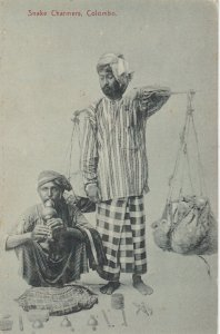 Snake Charmers , COLOMBO , 1900-10s