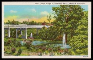 Second Street Bridge and Riverside Park, Clarksdale