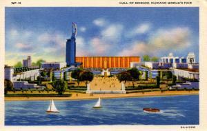 IL - Chicago. 1933 World's Fair-Century of Progress. Hall of Science