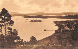 The Islands from above Luss Loch Lomond