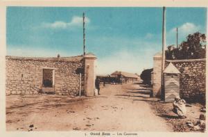 OUED ZEM, Morocco, Africa,  10s-20s; Les Casernes