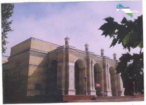 Tashkent: The Navoi Theatre, Uzbekistan, Asia, 1980-1990s