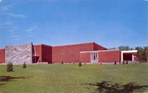 Cedar Falls Iowa~State College of Iowa~UNI~Music Buiding~1960s Postcard