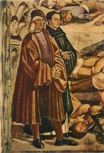 Religion Ritratti del Signorelli e Beato Angelico by Signorelli Postcard