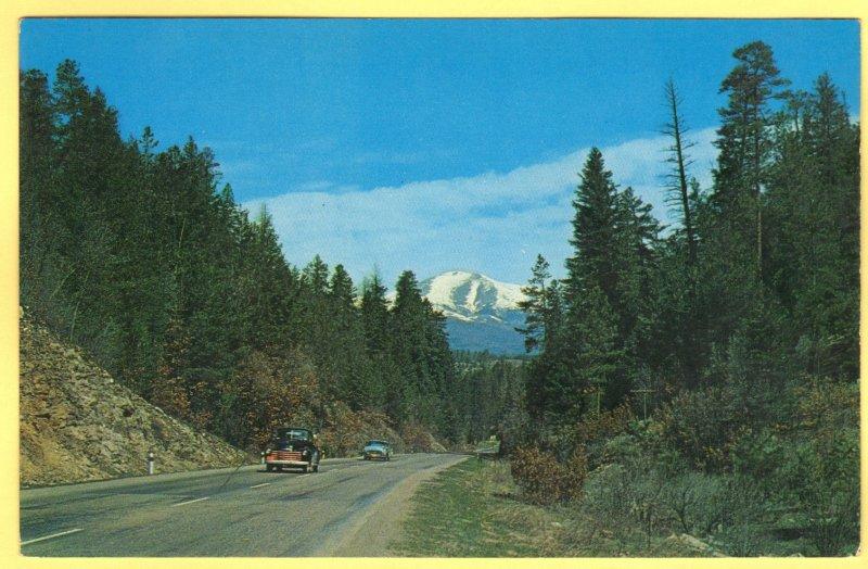 U. S. HIGHWAY 70, DARK CANYON, UTAH  SEE SCAN