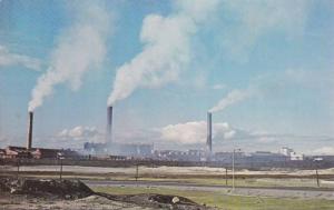 International Nickel CO. Plant Copper Cliff,  Ontario,  Canada,  40-60s