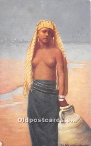 Egyptian Beauty Arab Nude Unused