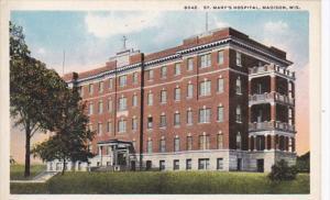 Wisconsin Madison St Mary's Hospital