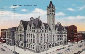 Wisconsin Milwaukee Post Office 1945