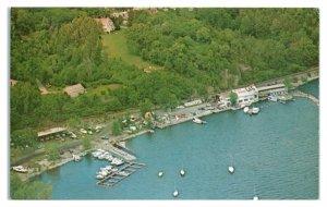 Velez Marine Service, Port Henry, NY Postcard *6S(5)15