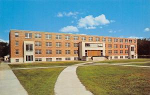 La Crosse Wisconsin State College~3-Story Wilder Hall~Circular Sidewalk 1950s